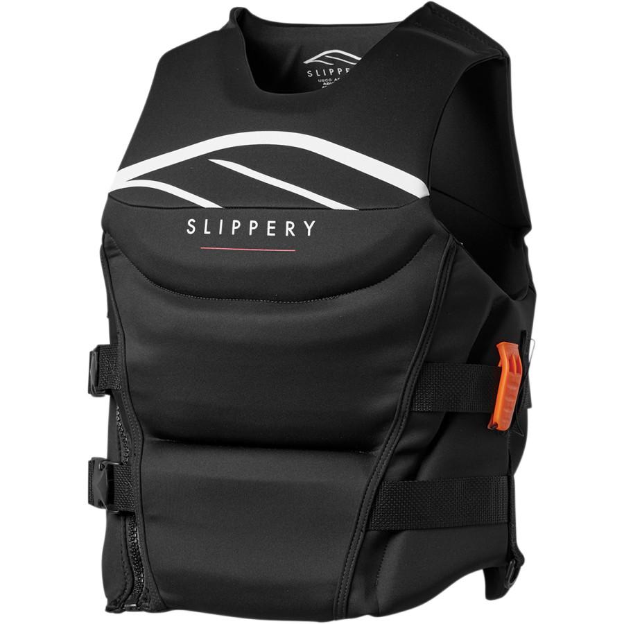 Slippery Wetsuits SURGE Neoprene Watercraft Vest//Life Jacket Black//Blue//Yellow