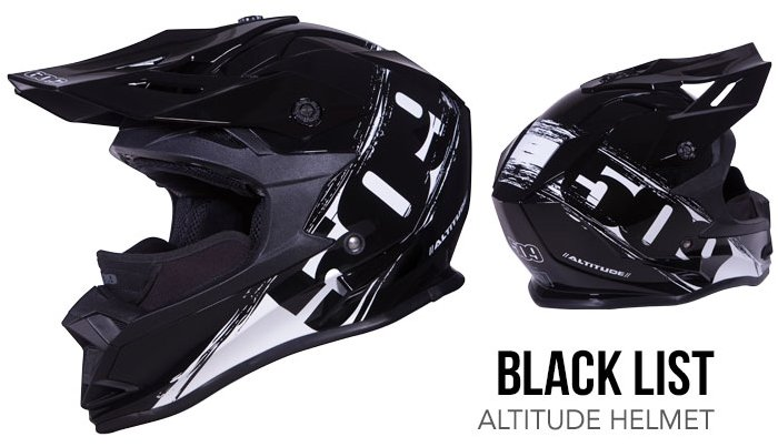509 Altitude Helmet black list