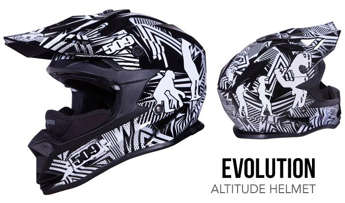 509 Altitude Helmet evolution