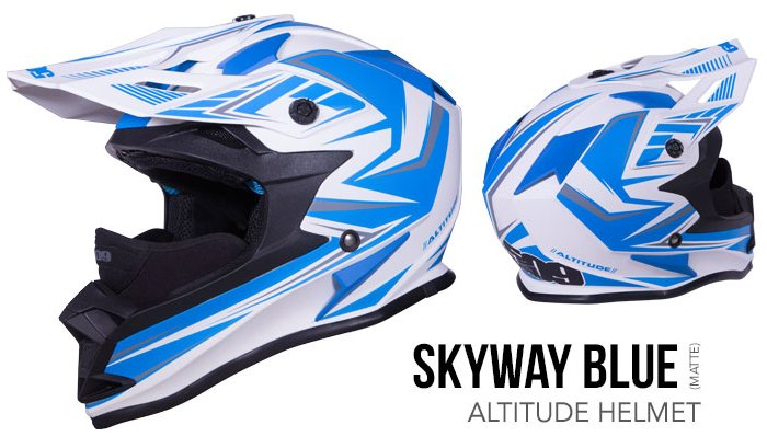 509 Altitude Helmet skyway blue