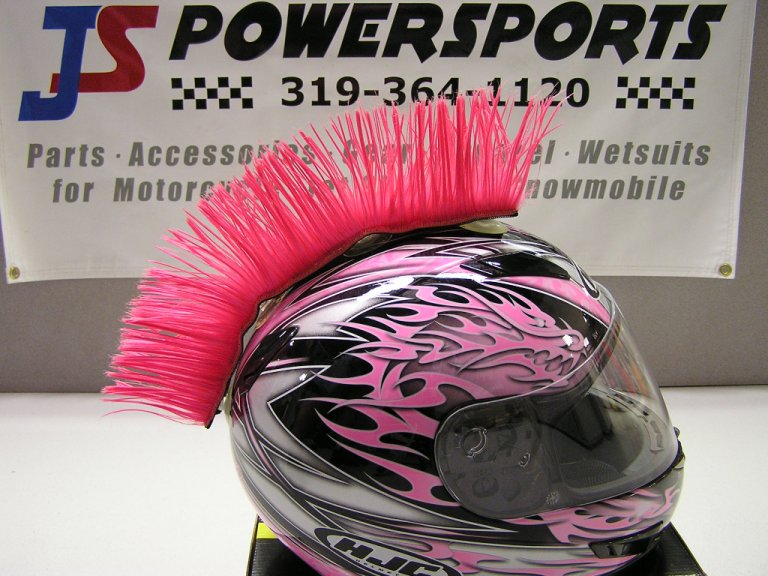 Hairy R s Pink MohawkPink Mohawk Helmet