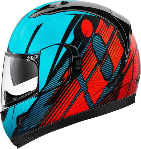 04bf30f5 Red, Icon Alliance GT Motorcycle Helmet