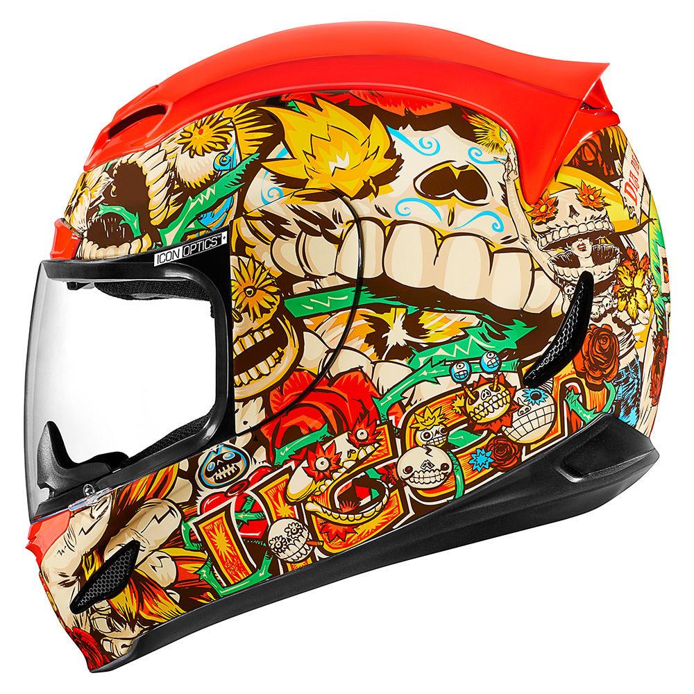 85908862 icon airmada dia de los muertos motorcycle helmet