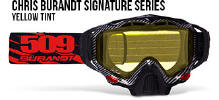 509 X5 Snowmobile Goggles Chris Burandt Signature Series