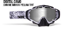 509 X5 Snowmobile Goggles Digital Camo