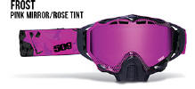 509 X5 Snowmobile Goggles Frost