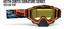 509 X5 Snowmobile Goggles Keith Curtis Signature Series
