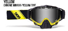 509 X5 Snowmobile Goggles Yellow