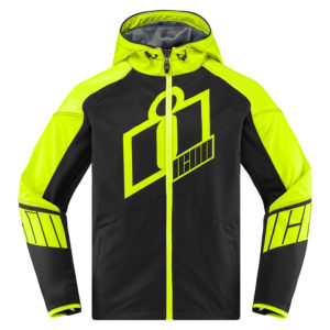 ICON SB2 Overlord Stim Textile Jacket RED FREE SHIPPING