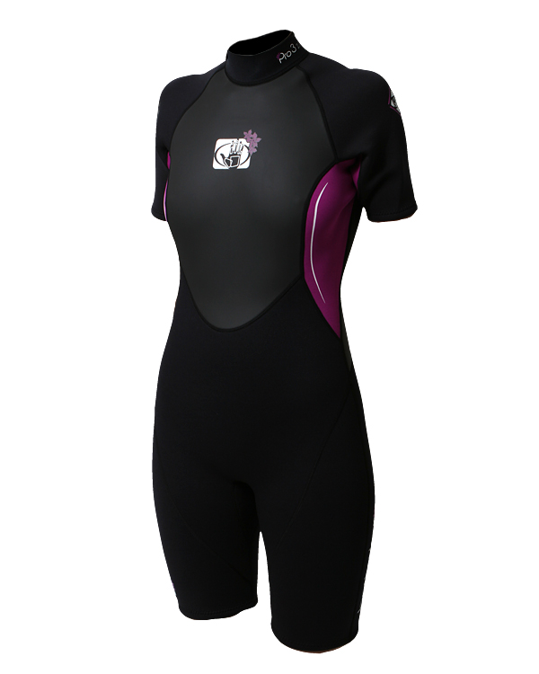 Body Glove Pro 3 Women's Spring Wetsuits-Shorty Wetsuits